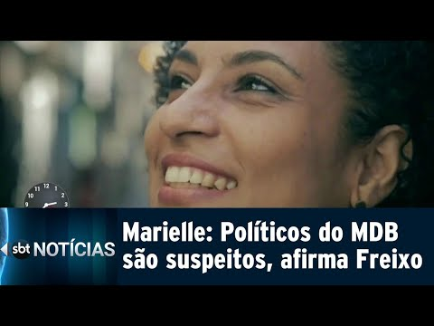 Políticos do MDB são investigados no caso Marielle, segundo deputado | SBT Notícias (10/08/18)