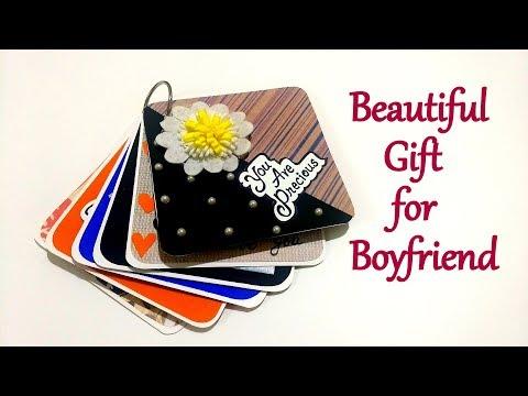 Beautiful Handmade Gift for BOYFRIEND | Handmade Gift Idea | Complete tutorial