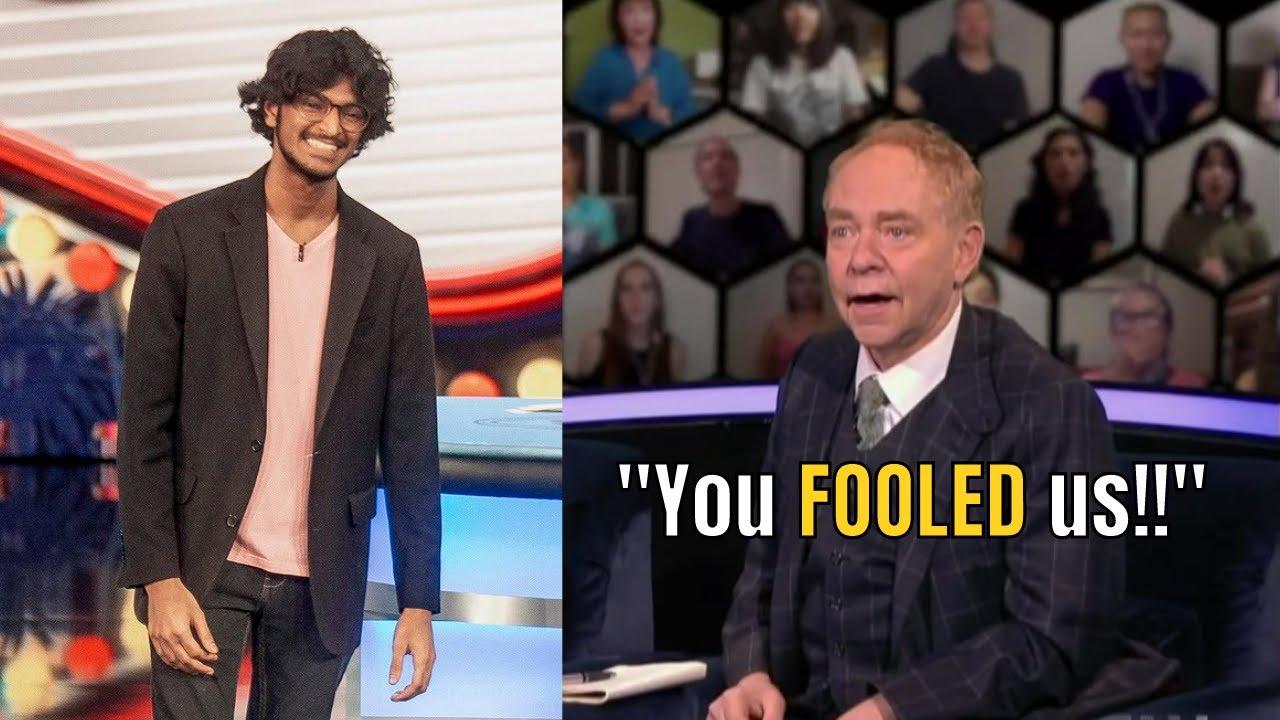 Download 19-year-old Sanjeev Vinodh fools Penn & Teller // Penn and Teller: Fool Us