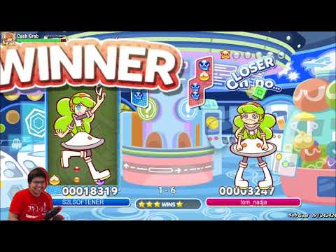 Puyo Puyo Tetris PC with Tom (top ranked JP player). Also, an English Lesson!? (Mar 2, 2018)