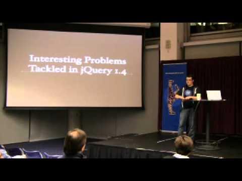 John Resig: Testing, Performance Analysis, and jQuery 1.4