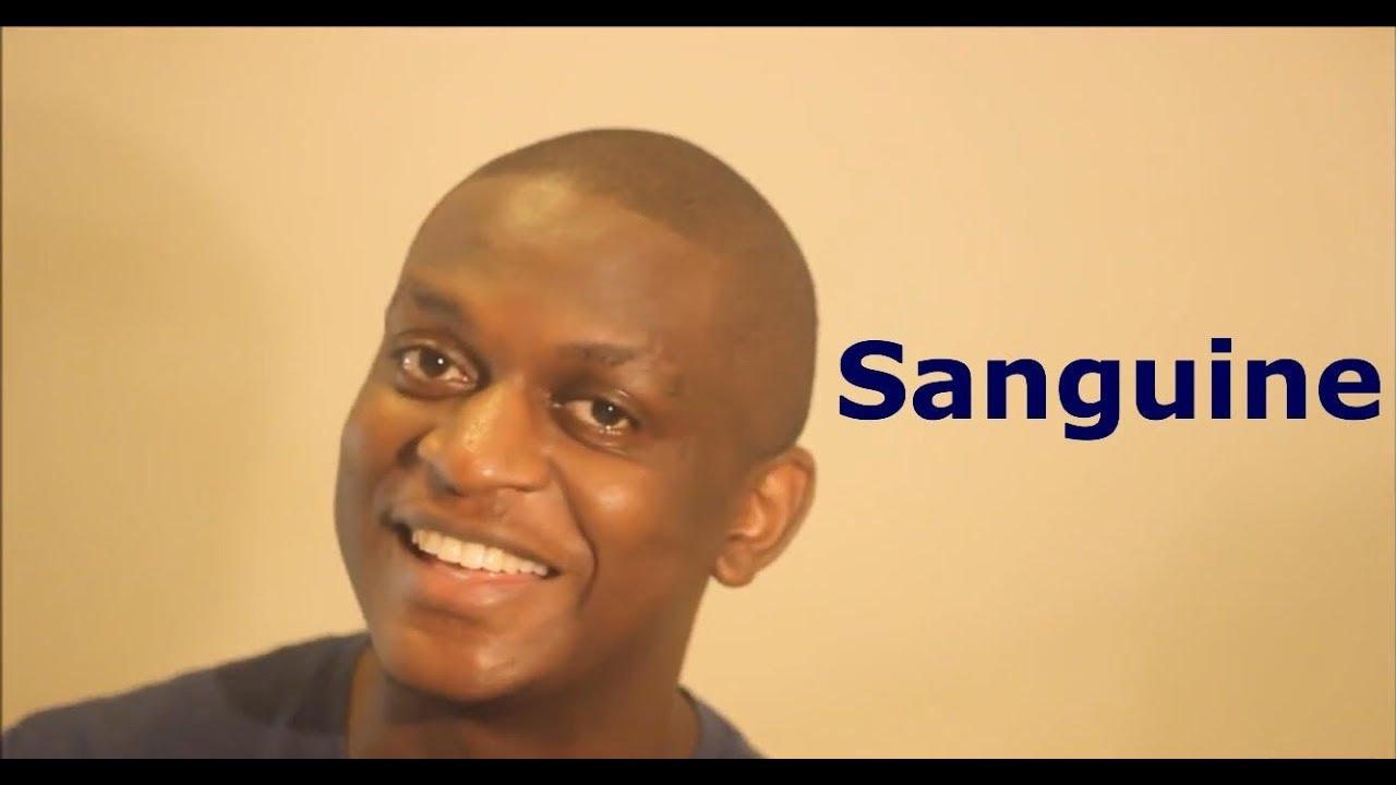 Sanguine people