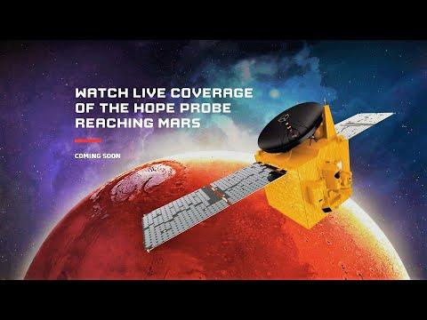 LIVE: Emirates Mars Mission - Hope Probe enters Mars orbit | February 09, 2021