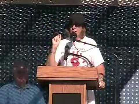 Cindy Sheehan at Fighting Bob Fest (9/8/07) Part 5 of 5