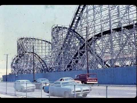 cyclone rollercoaster Revere Beach MA 1971