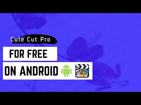 How To Get Cute Cut Pro (FOR FREE)On Android!!!