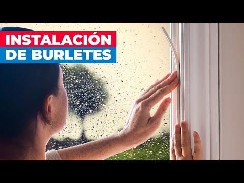 C mo aislar puertas y ventanas con burletes youtube for Aislar puerta entrada