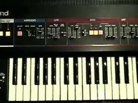 Roland Juno-6 : Sync Analog Sequencer and Arpeggiator