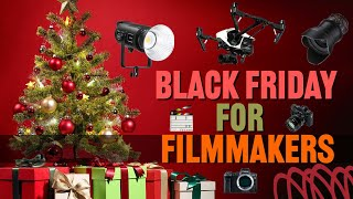 Black Friday and Holiday Deals for Filmmakers 2020
