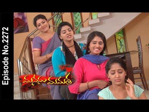 Manasu Mamata | 3rd May 2018  |Full Episode No 2272| ETV Telugu