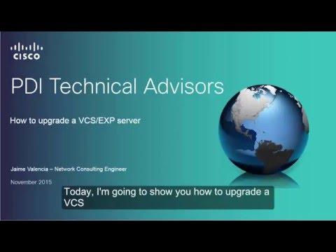 Cisco VCS Server Upgrade Procedure