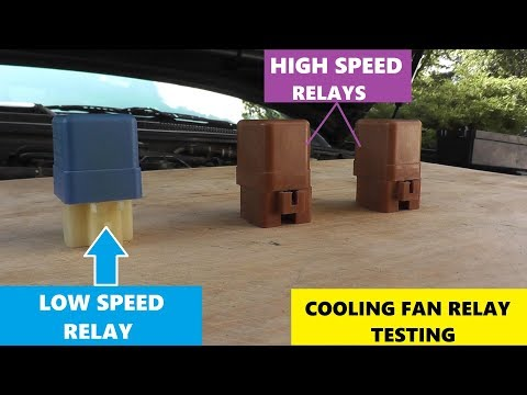 how-to-test-cooling-fan-relays---low-and-high-speed