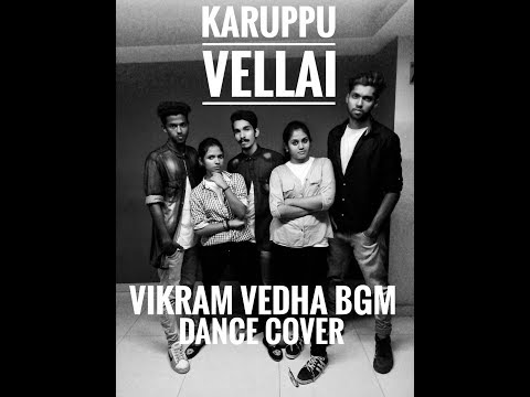 Vikram Vedha Bgm Dance cover | Karuppu vellai| Gokul Devis feat Academy of Outlaws Choreography