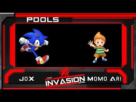 Invasion Pools JoX (Sonic) Vs Momo Ari (Lucas)