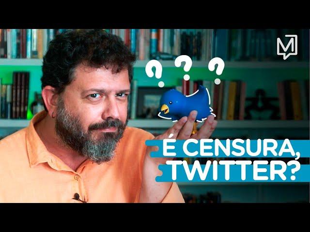 É censura, Twitter? I Ponto de Partida