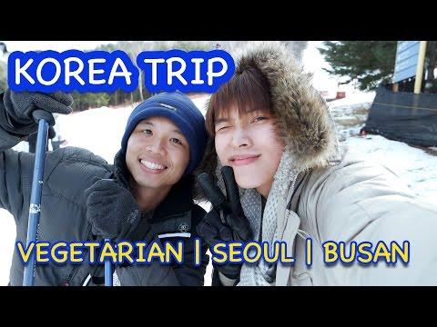 KOREA VLOG | VEGETARIAN | SEOUL & BUSAN