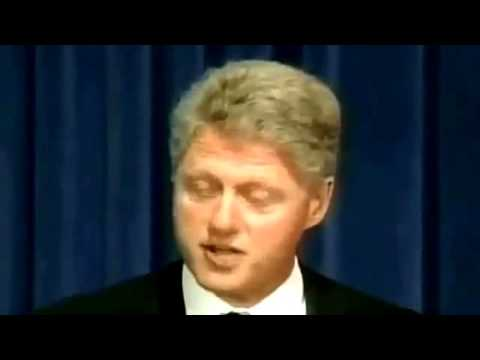Bill Clinton ~ Apology To Human-Experiment Victims