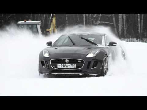 Роман Русинов в Jaguar Land Rover Experience