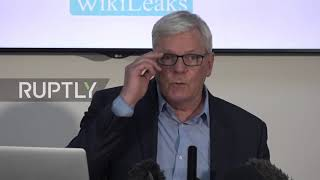 UK: Wikileaks claims discovery of 'extensive spying operation' against Assange
