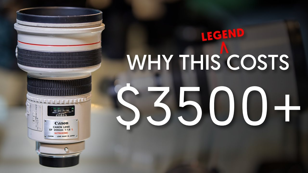 Why It S Expensive The Eye Of Sauron Canon 200mm F1 8 Ep 6 Youtube