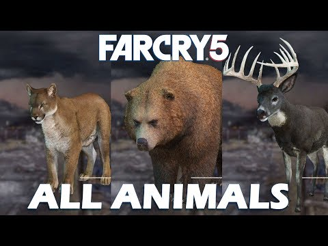 Far Cry 5 All Animals & Fish Locations (Been There, Done That Trophy / Achievement Guide)