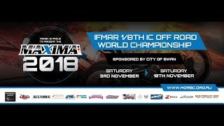 Maxima 2018 IFMAR 1/8th IC Off Road World Championship [LIVE, FREE & HD] | Finals Day 2