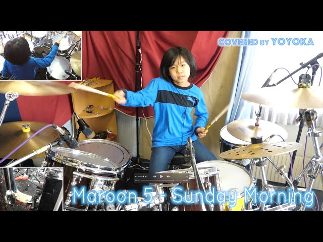Maroon 5 - Sunday Morning / Covered by Yoyoka, 10 year old