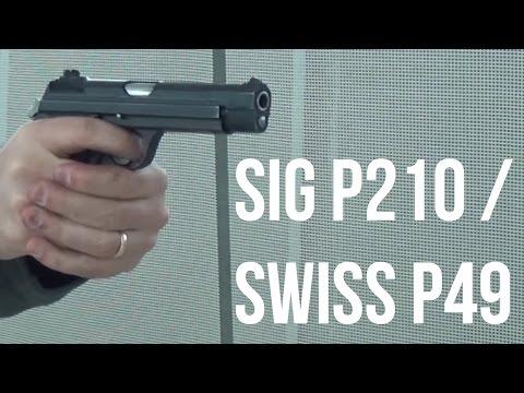 SIG P210 / Swiss P49 - YouTube