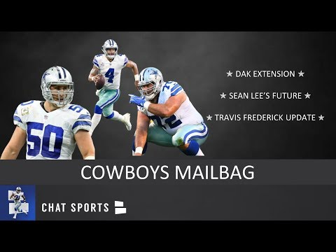 Cowboys Mailbag: Travis Frederick Update, Sean Lee's Future, Dak Contract Extension & 2019 Draft