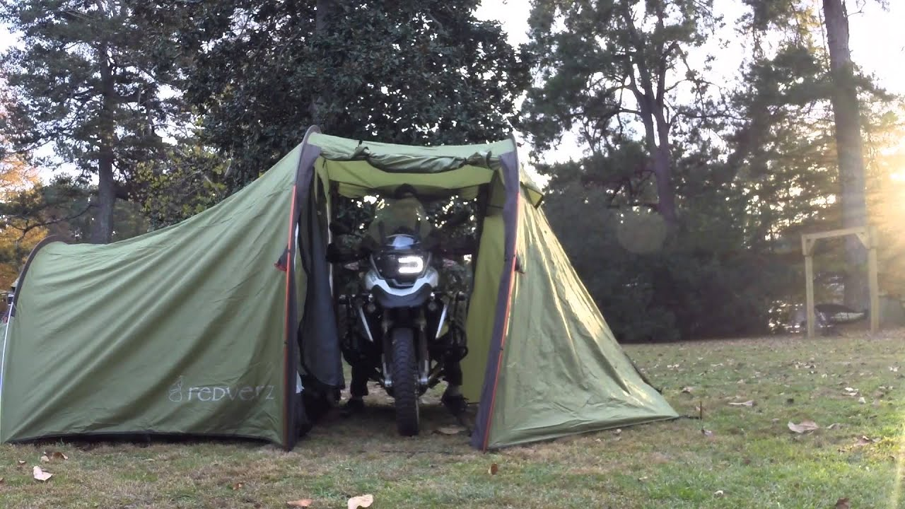 & Redverz Tent Set Up 0f Atacama Motorcycle Expedition Tent - YouTube