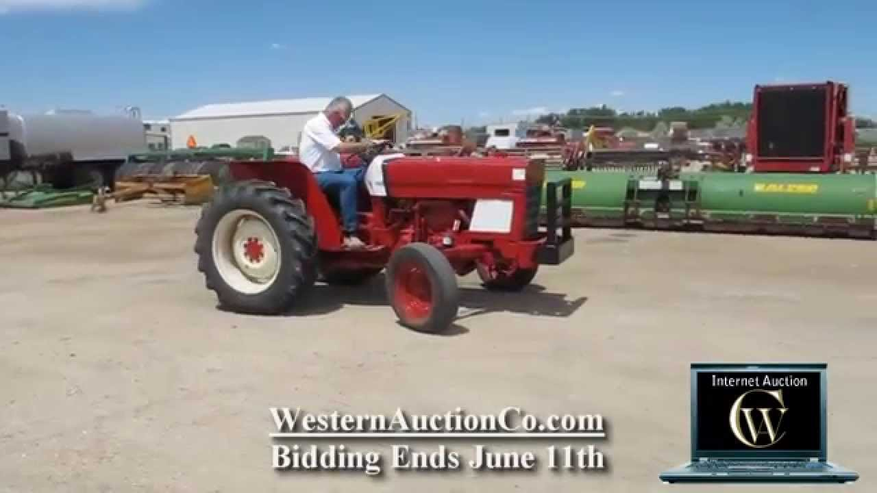 Low Profile Tractor : International low profile tractor youtube
