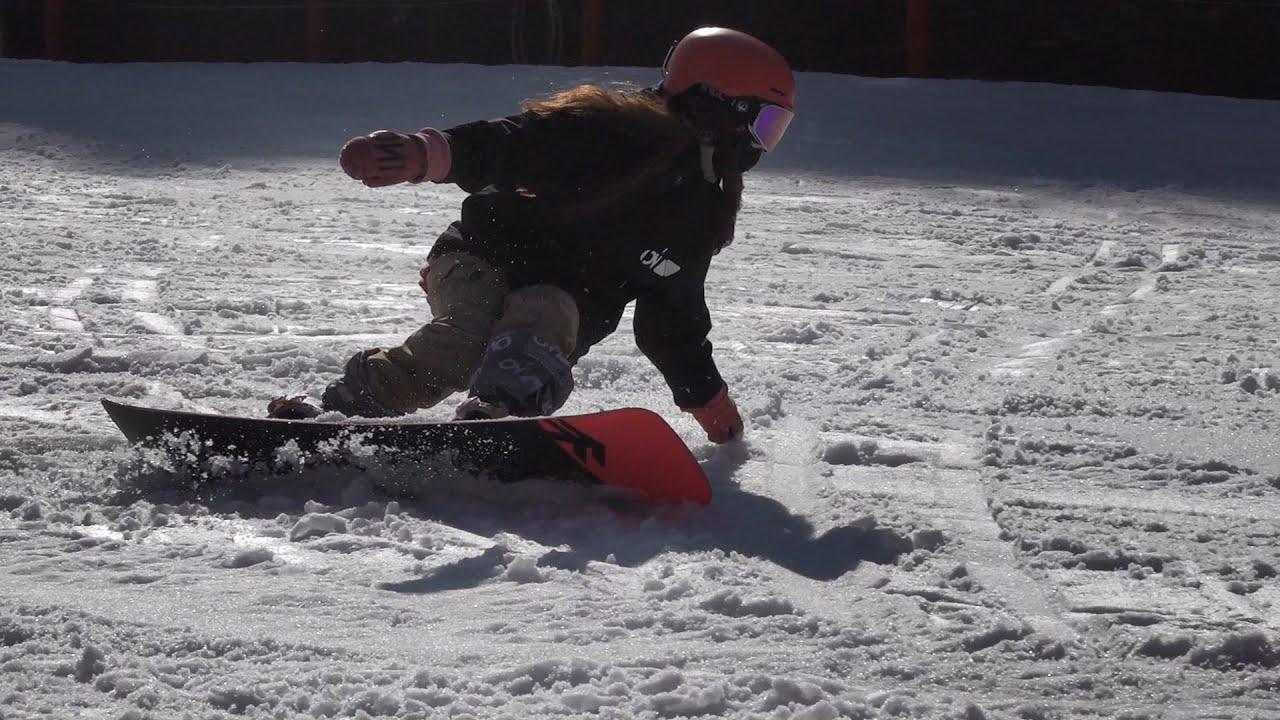 완사 카빙 완전정복!!  6분 슬로우! Freestyle Snowboard Advanced Carving