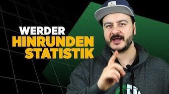Die wichtigsten Statistiken zur Hinrunde von Werder Bremen