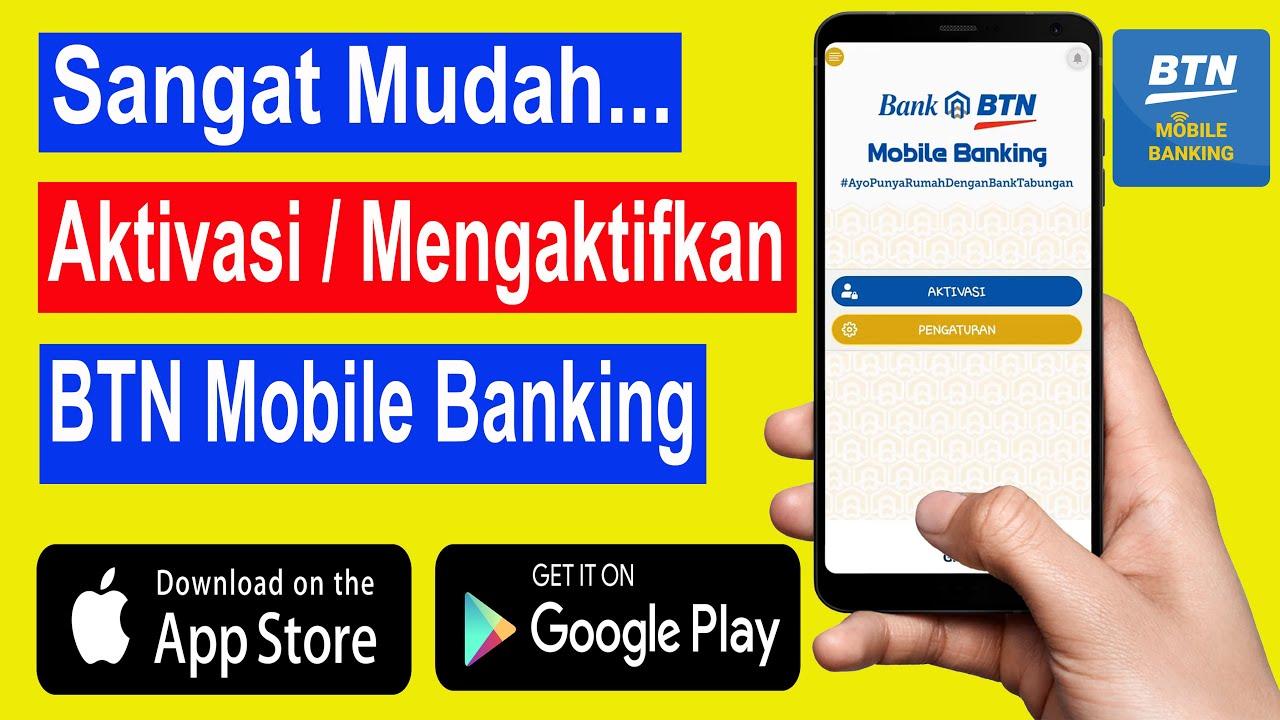 cara aktivasi mobile banking btn