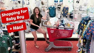 Shopping For Baby At Target | Our First Foster Placement | 4 Month Old Boy