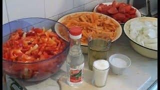 34. Вкуснейший салат из моркови, перца и лука