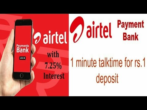AIRTEL PAYMENT BANK- HOW TO OPEN ACCOUNT