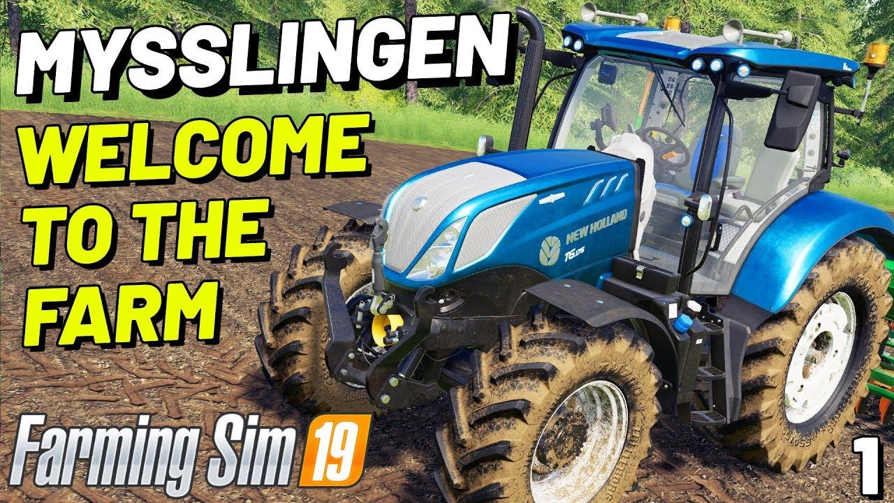 WELCOME TO THE FARM   Mysslingen FS19 - Episode 1