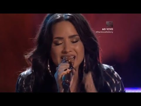 Demi Lovato - Tell Me You Love Me (Live The Voice USA 2017)