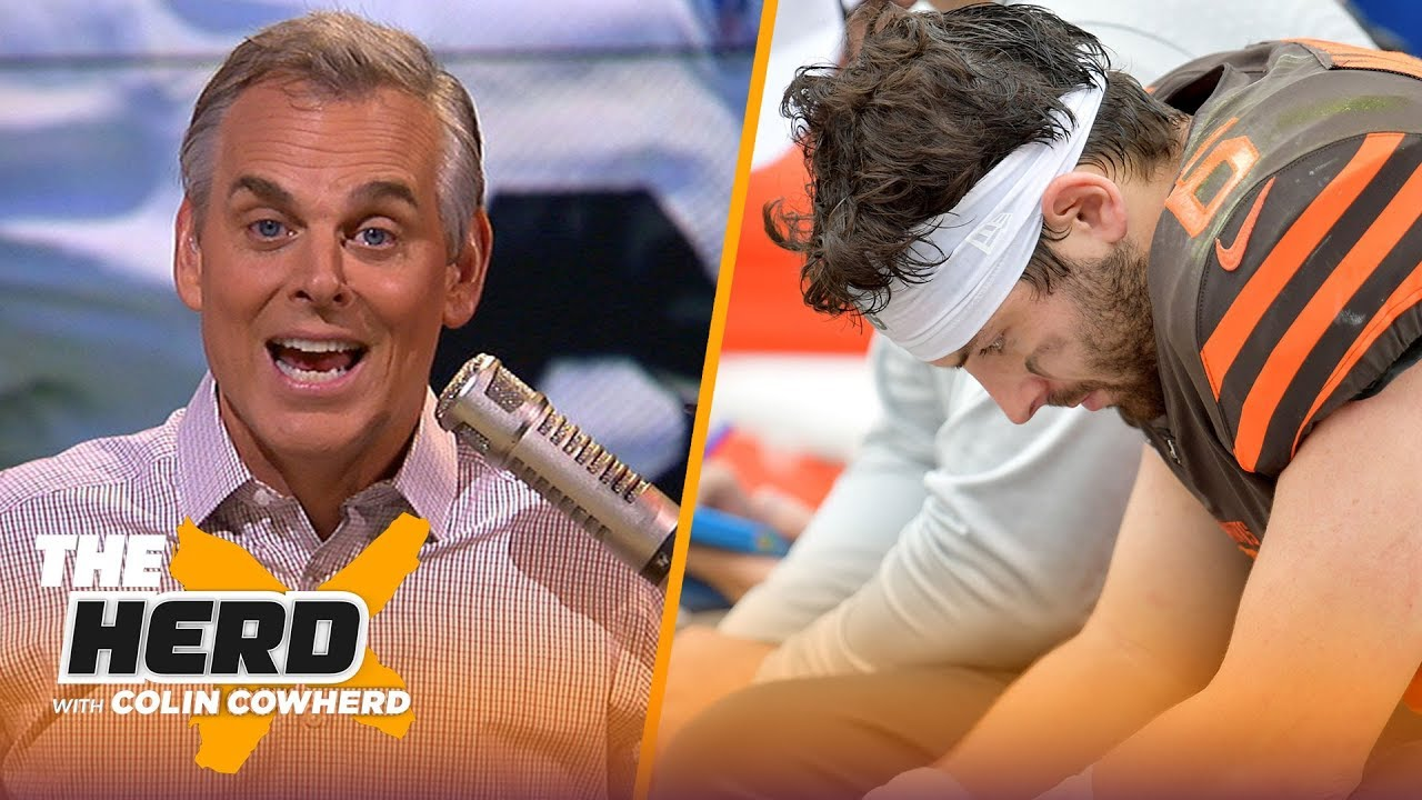 Colin reacts to Browns' Week 1 drubbing & Antonio Brown signing with Patriots | NFL | THE HERD image