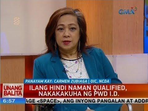 UB: Ilang hindi naman qualified, nakakakuha ng PWD I.D.