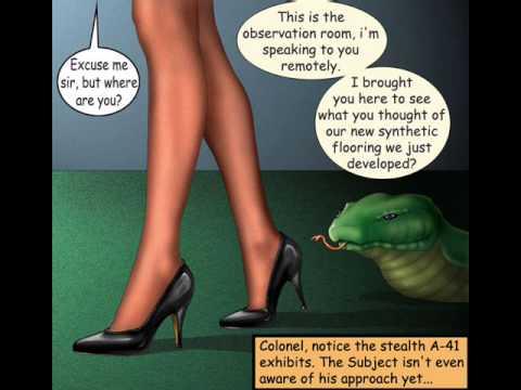 Heroine gamma girl gets captured - 3 part 7