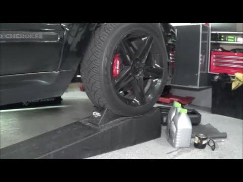 Jeep srt8 oil change