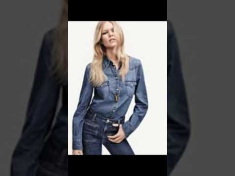 Anna Ewers Shows off Her Tight Denim Pants