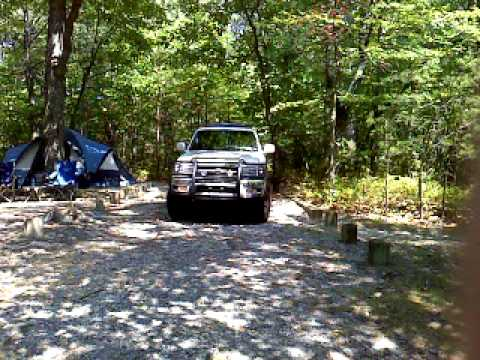Hanging Rock State Park Campsite 19   YouTube