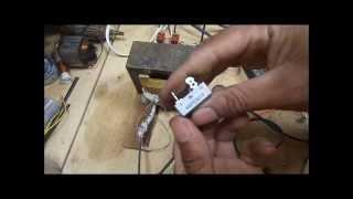 Como fazer fonte com trafo de microondas passo a passo 2 rtificando