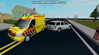 Roblox ambulanza storia episodio 7 incidente a Fotball