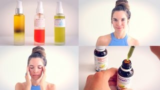 OIL CLEANSING METHOD FOR BEAUTIFUL SKIN! The best way to wash your face!