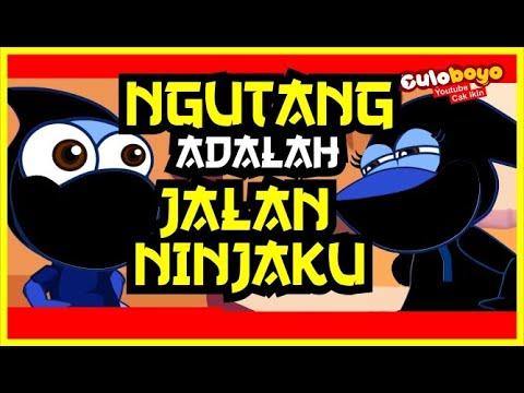 parah-!!!-ngutang-adalah-jalan-ninjaku-!!!-culoboyo---kartun-lucu,-kartun-versi-jawa-iwak-gatul