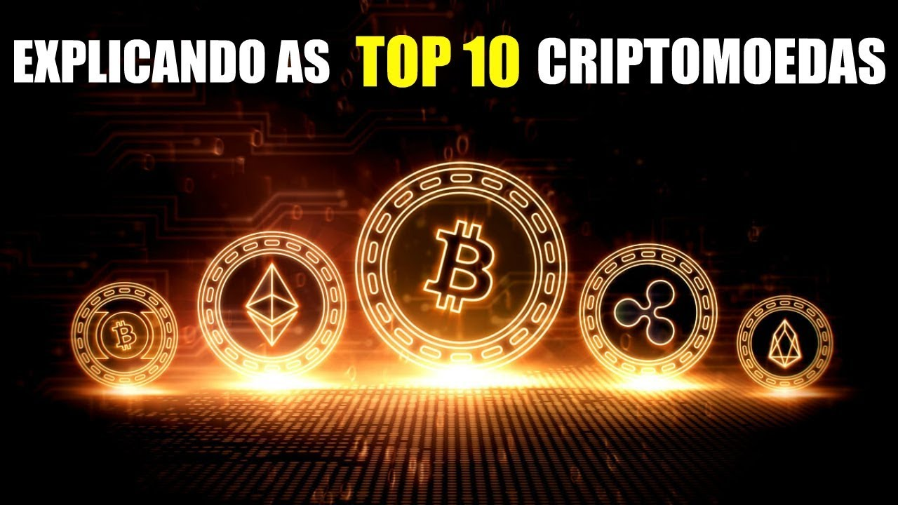 Explicando as TOP 10 Criptomoedas - do Bitcoin a Monero